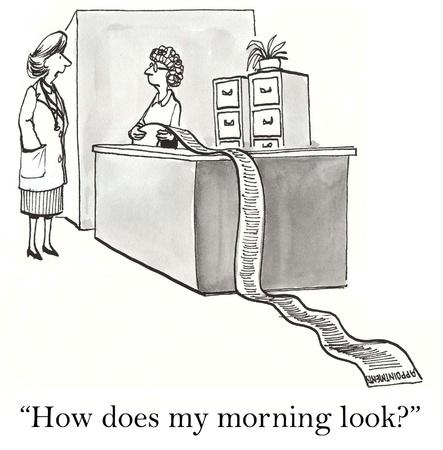 How does my morning look Reklamní fotografie - 16924582
