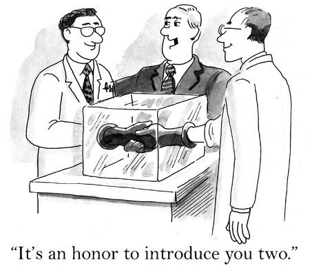 「お二人をご紹介できて光栄です」