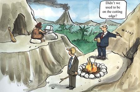 edad de piedra: T ¿No solíamos ser vanguardia