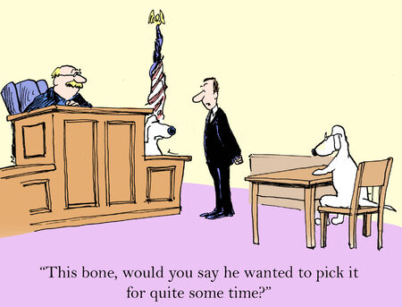 plaintiff: This bone, would you say he wanted to pick it for quite some time
