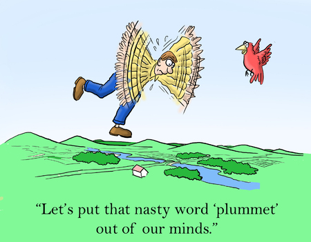 nasty: Lets put that nasty word plummet out of our minds.