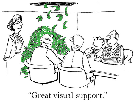 Great visual support   photo