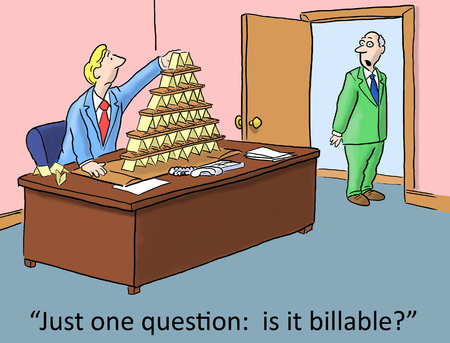 Just one question:  it is billable from boss Stock Photo