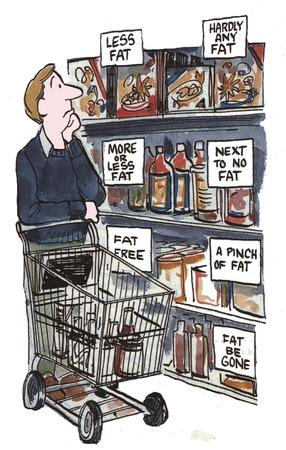 misunderstanding: Good and bad food