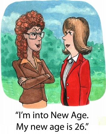 new age: My new age
