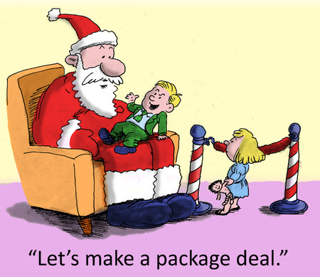 let s:   Let s do a package deal
