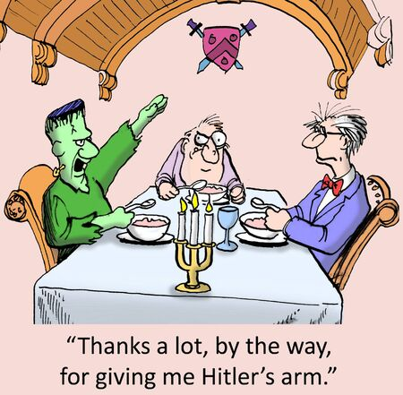 Thanks a lot for giving me Hitler