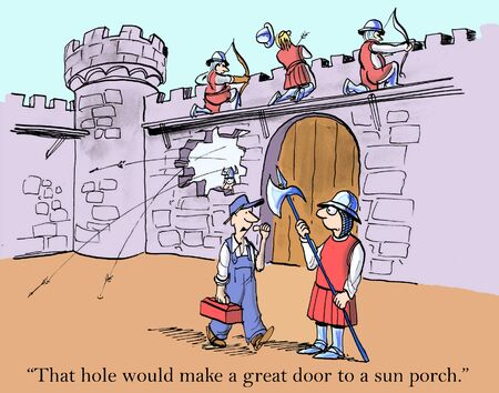 innovating: That hole would make a great door to a sun porch