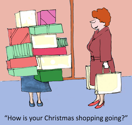 How is your Christmas shopping going