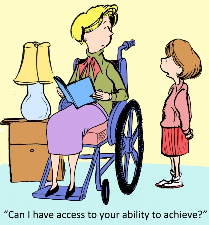 physically: Can I have access to your ability to achieve