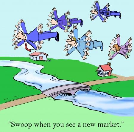 """""""Swoop als je een nieuwe markt."""""""