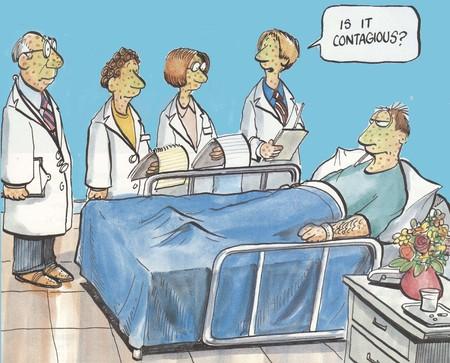 bedside: �Es contagioso