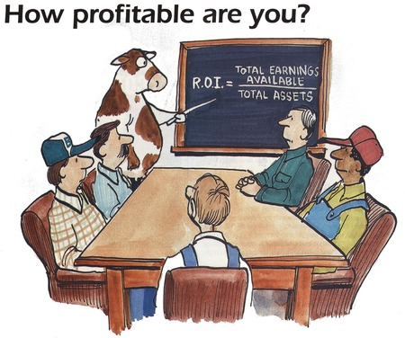 profitable: How profitable are you  Stock Photo