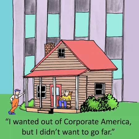 syndicated: I wanted out of Corporate America, but I didnt want to go far.