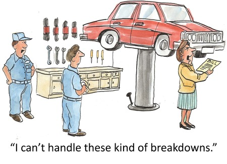 auto service:  I can t handle these kind of breakdowns