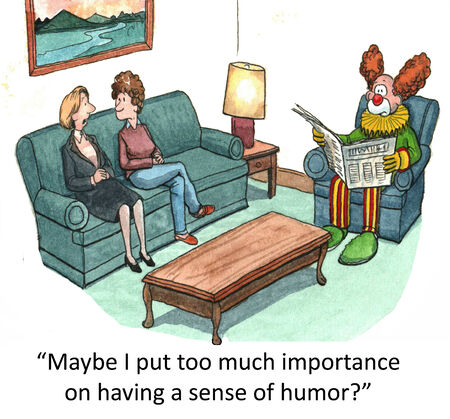 importance:  Maybe I put too much importance on having a sense of humor