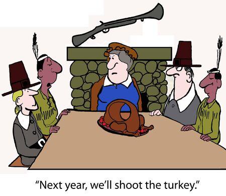 Big shot turkey