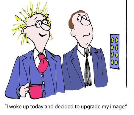comic duo: I woke up today and decided to upgrade my image.