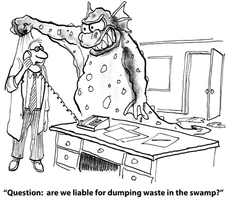 dumping:  Have we been dumping chemicals in the swamp
