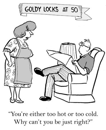 goldy: Fumetto di Goldy Locks chiedere marito, perch� pu� \ Archivio Fotografico
