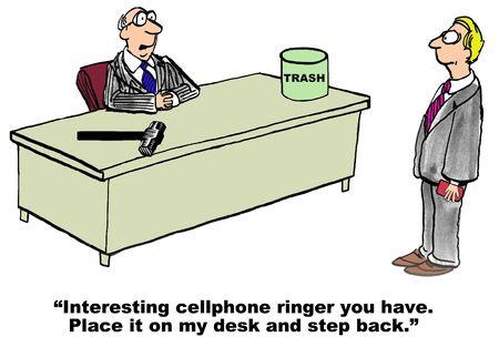 obnoxious: Cartoon of businessman boss who dislikes his associate\\\\