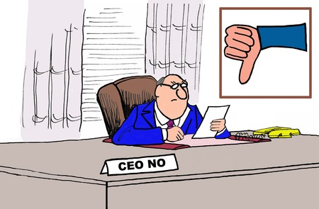 disapproval: CEO No