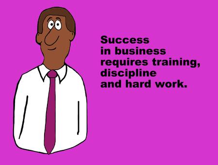 Success in Business 版權商用圖片