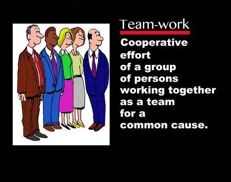 teamwork: Teamwork Definition