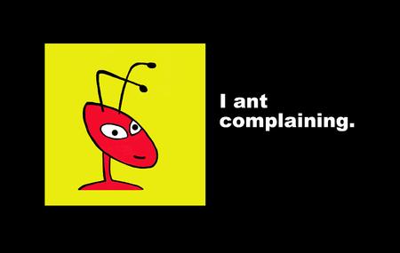 불평하지 않음