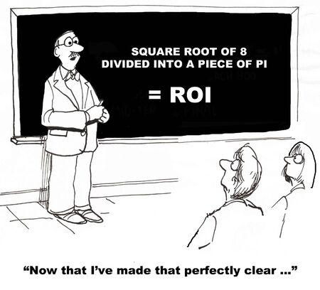 negative returns: ROI