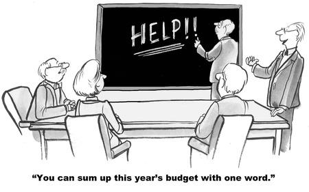 Necesidades Presupuesto Foto de archivo - 50276774