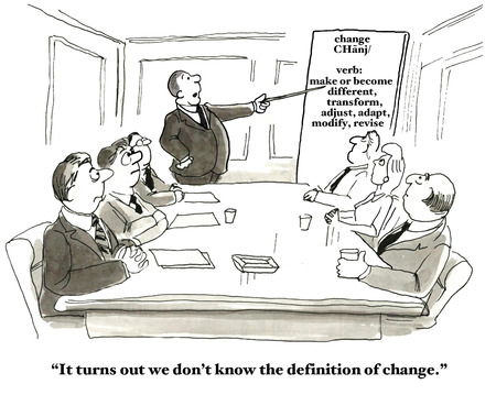 open minded: Definition of Change