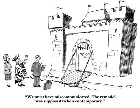 miscommunication: Miscommunication Stock Photo