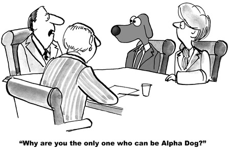business confidence: Alpha Dog