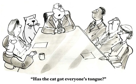got: The Cat Has Your Tongue