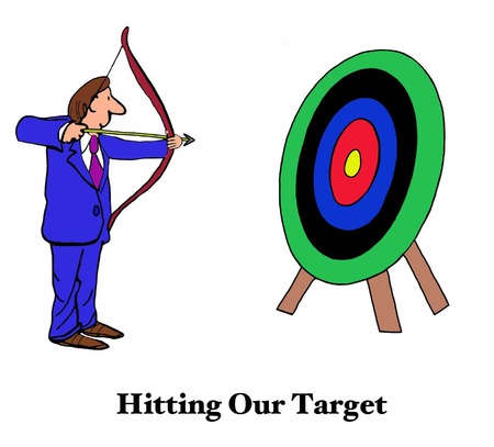 our: Hitting Our Target