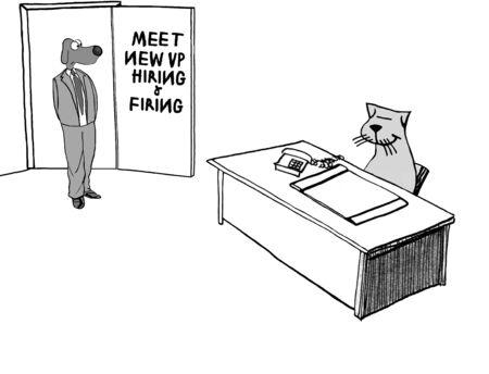 concern: New VP Creates Concern Stock Photo