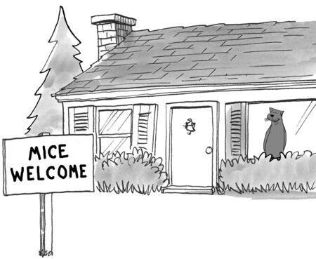 mislead: Mice Welcome