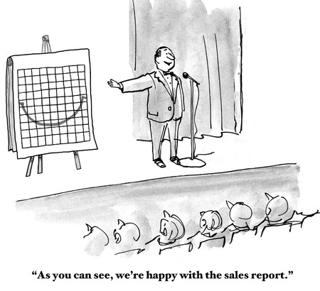 quarterly: Happy with Sales Report