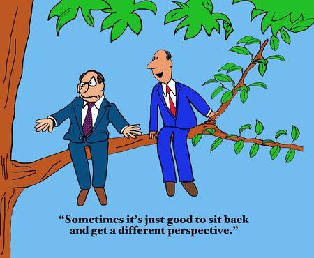 Obtenez une perspective différente