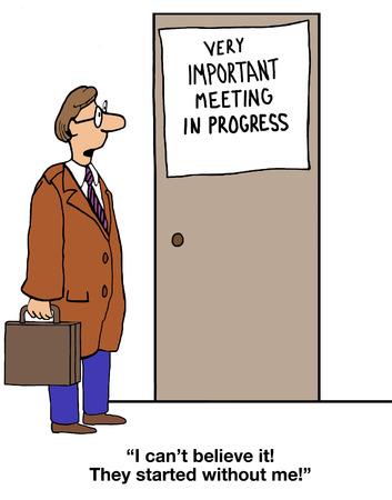 gag: Meeting In Progress