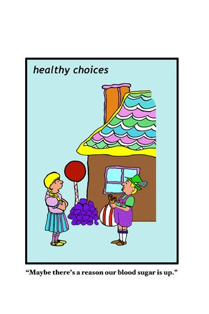 multiple house: Diabetes Stock Photo