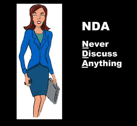 people discuss: NDA