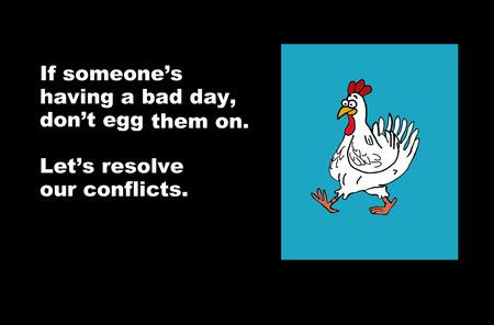conflicto: Resolver el conflicto