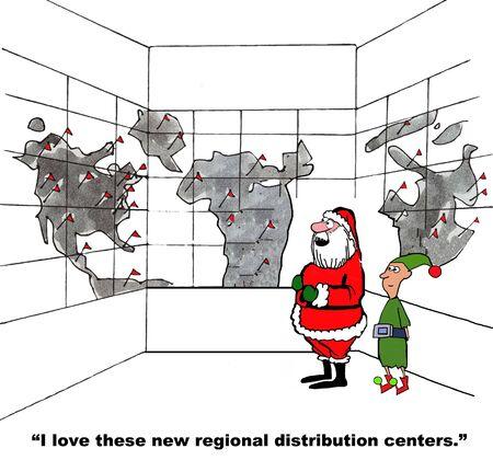 centers: Christmas Eve