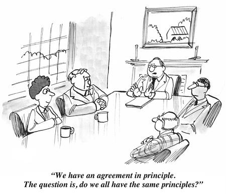 negociacion: Principio de acuerdo