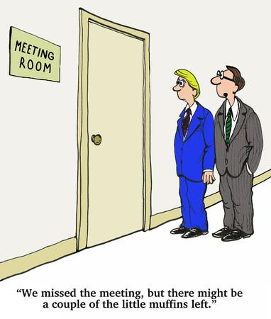 회의를 놓친 스톡 콘텐츠