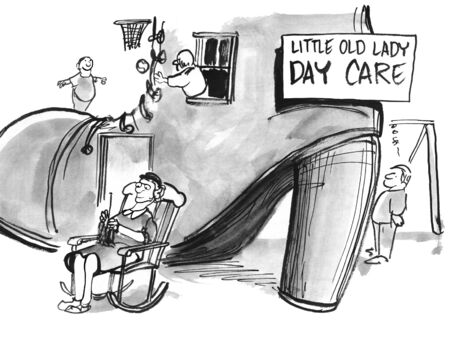 care: Little Old Lady Day Care