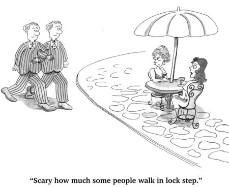 walk in: Walk in Lock Step