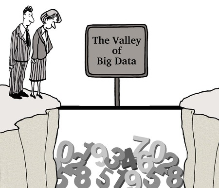 financial cliff: Valley of Big Data